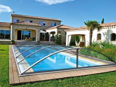 Abri piscine idealcover klasik pro a for Abri piscine klasik c