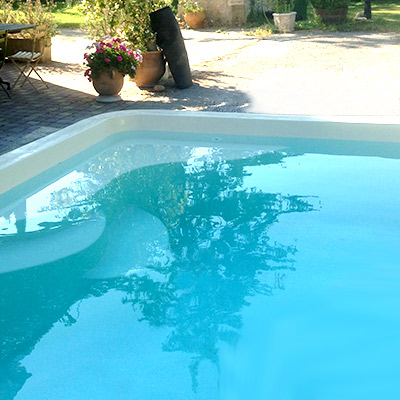 Mini piscine canea coque polyester for Avis piscine coque polyester