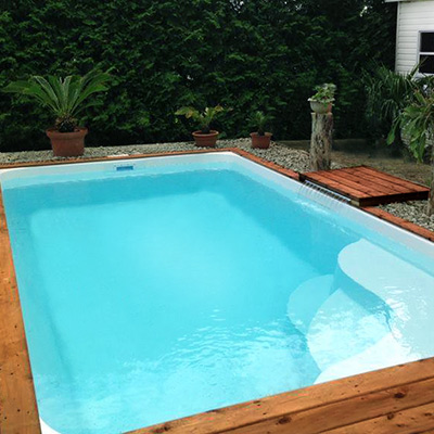 Piscine merina coque polyester for Avis piscine coque polyester
