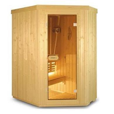 Cabine de sauna harvia variant line s1515r fabrication for Fabrication sauna interieur