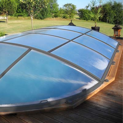 Abri pour piscine woody pool for Abri de piscine online