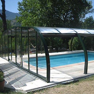 abri haut miami pour une vraie piscine couverte et un espace de vie. Black Bedroom Furniture Sets. Home Design Ideas