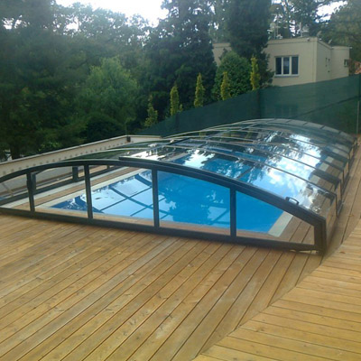 Abri de piscine mirage for Fournisseur piscine