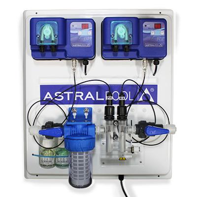 Tableau r gulation astralpool avec pompes p ristaltiques for Allergie au chlore de piscine
