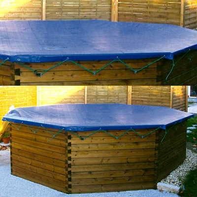 Couverture hivernage piscine hors sol bois GARDIPOOL