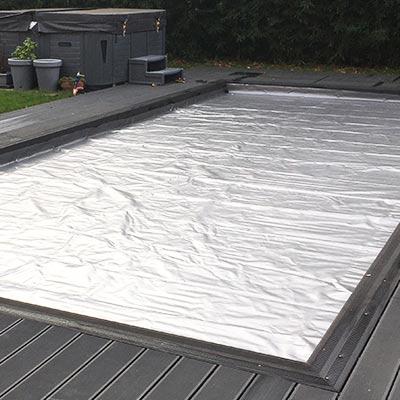 Couverture de protection pour volet de piscine procover - Protection pour piscine enterree ...