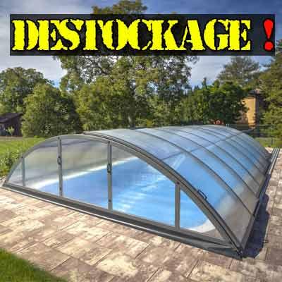 Abri de piscine silhouette for Destockage piscine