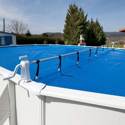 Enrouleur de bache pour piscine hors sol for Bache piscine prix
