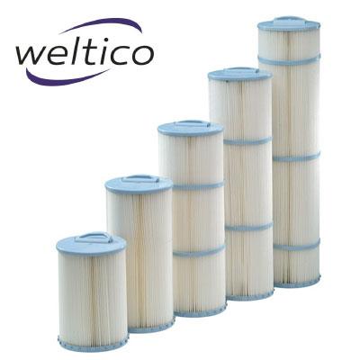 Cartouche de remplacement filtrante weltico pour filtre piscine - Filtration piscine waterair ...