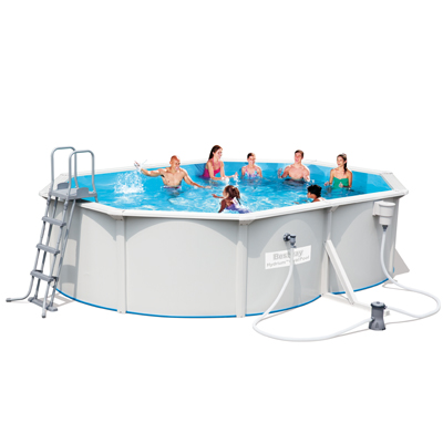 Piscine hors sol bestway hydrium ovale for Fournisseur piscine