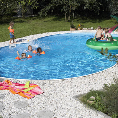 Kit piscine uni de forme ovo de for Fournisseur piscine