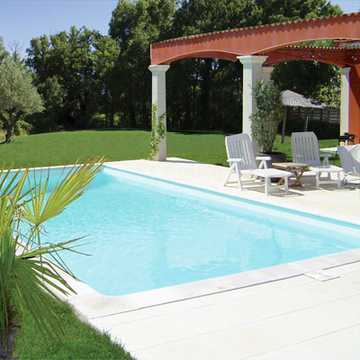Kit piscine acier galvanis tradipool master for Kit piscine enterree