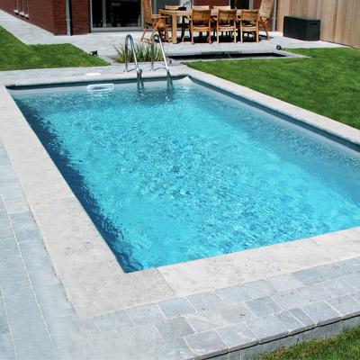 Kit piscine acier galvanis tradipool plus for Piscine en tole