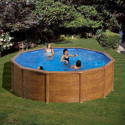 Piscine hors sol acier gre pacific rondes et ovales for Solde piscine acier