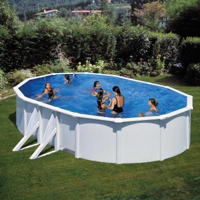piscine hors sol ronde Évron