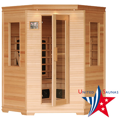 Sauna infrarouge 3 - 4 places Oklahoma