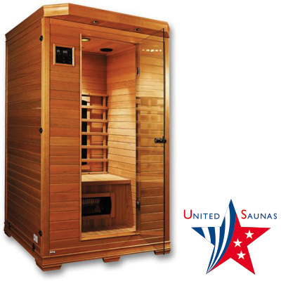 sauna infrarouge 2 places vermont. Black Bedroom Furniture Sets. Home Design Ideas