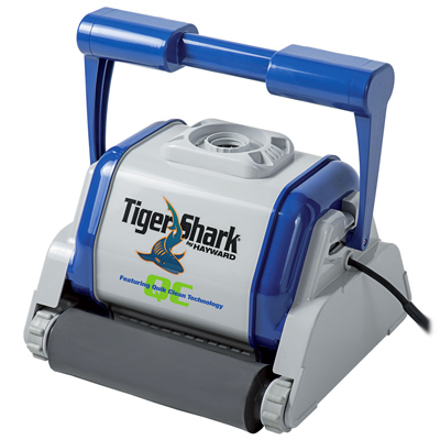 robot piscine hayward tiger shark quick clean