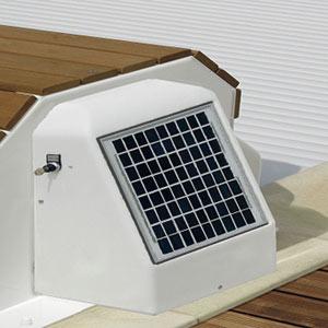 Volet roulant hors sol solaire capcir eco - Volet roulant solaire avis ...