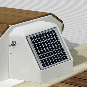 volet roulant hors sol solaire capcir eco. Black Bedroom Furniture Sets. Home Design Ideas