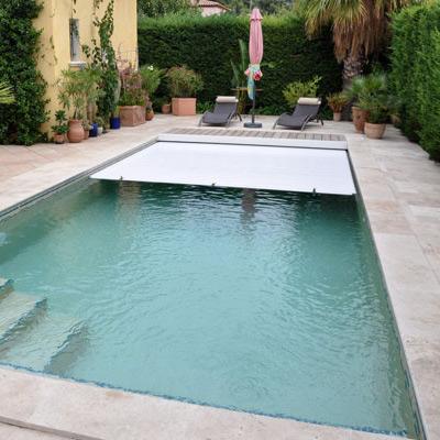 Volet roulant immerg deepeo pour une piscine s curis e for Prix couverture piscine