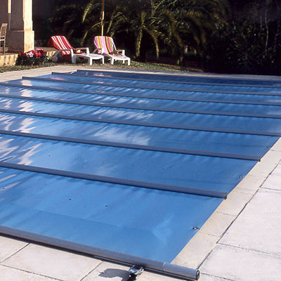 Couverture barres walu pool evolution for Prix piscine 10x5