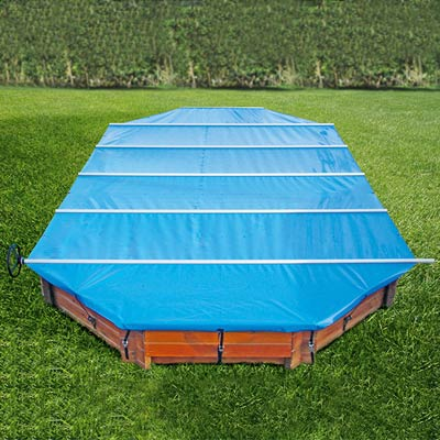 Couverture barres walu pool woodstar for Couverture piscine bois