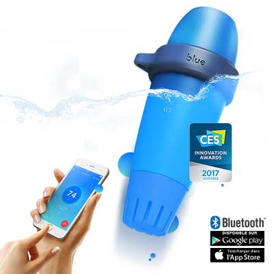 BLUE : l'analyseur intelligent de l'eau de piscine