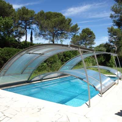 abris bas constellation bronze pour piscine. Black Bedroom Furniture Sets. Home Design Ideas