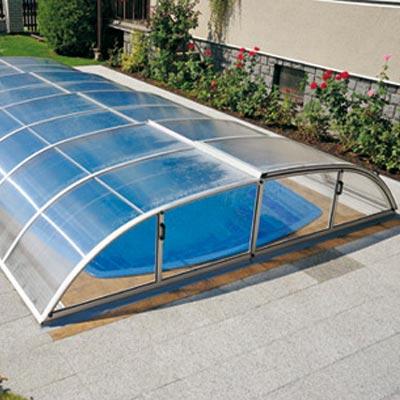 Abri de piscine ultra bas aurora for Abris bas piscine