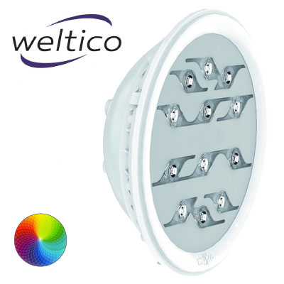 Ampoule LED multicolore WELTICO Rainbow Power Design