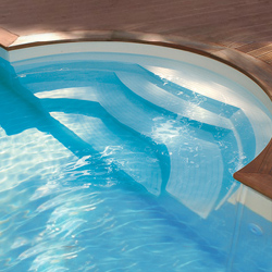 Escaliers Sous Liner RED POOL