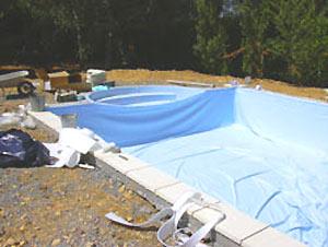 Liners sur mesure membranes en pvc arm et peintures for Prix pose liner arme piscine