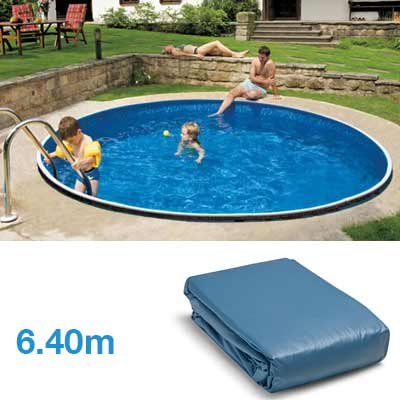 Liner x pour piscine hors sol ronde for Cout remplacement liner piscine