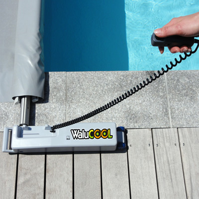 Manivelle motoris e rolltrot pour enrouler votre Manivelle bache piscine