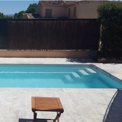 Piscine coque Saint Tropez