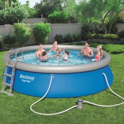piscine hors sol acier azuro basic. Black Bedroom Furniture Sets. Home Design Ideas