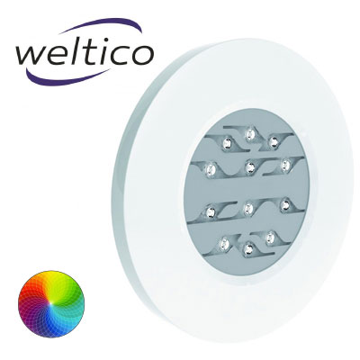 Projecteur LED sans niche Weltico Rainbow Power Design