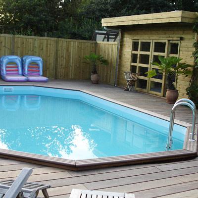 Piscine bois gardipool rectangulaire for Budget piscine bois