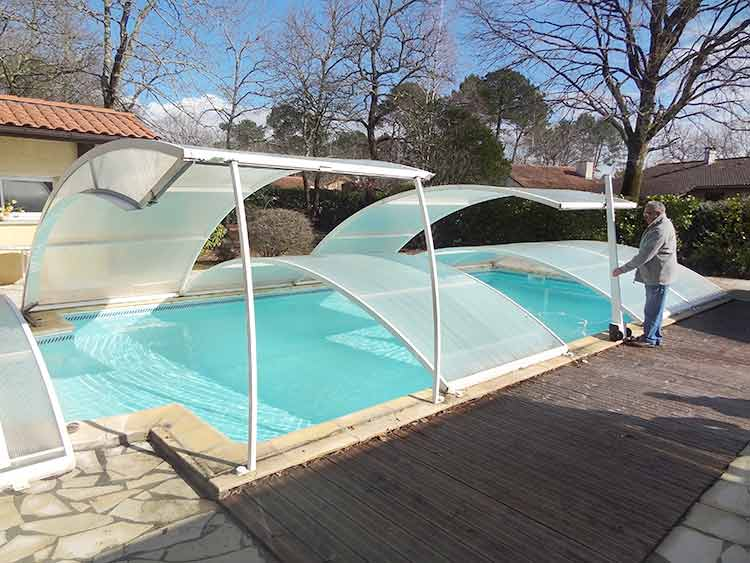 Motorisation d abri de piscine Lift Up