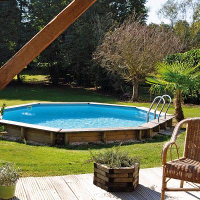piscines bois hors sol ou enterrer rectangulaires. Black Bedroom Furniture Sets. Home Design Ideas