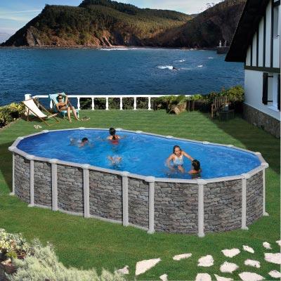 piscine hors sol rectangulaire Évron