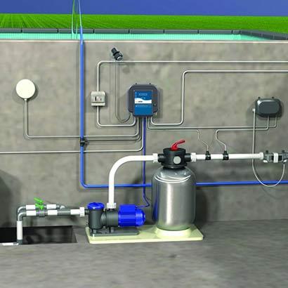 Coffret lectrique multifonctions smart control for Coffret technique piscine