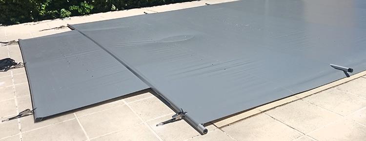 Couverture de s curit piscine starpool basic for Vers gris gazon