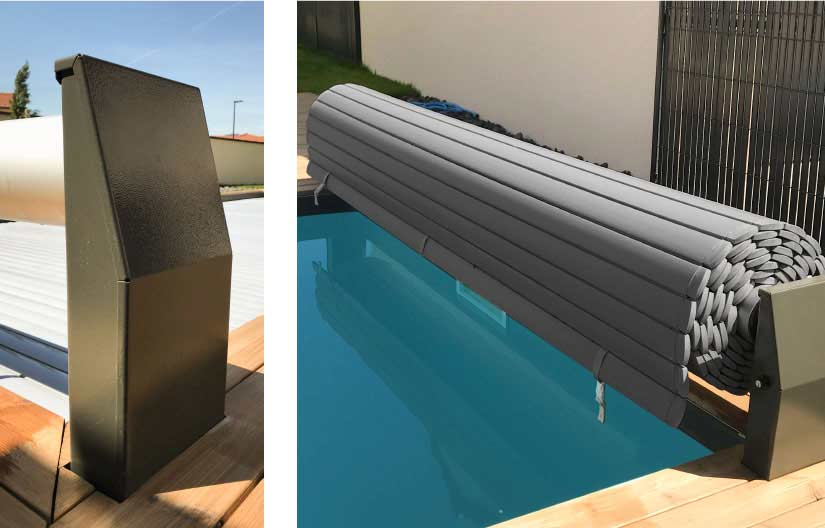 Volet piscine hors sol automatique Safety Roll