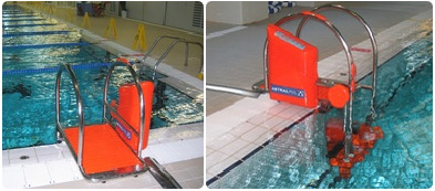 Echelle automatique motorisee Waterlift
