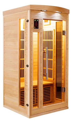 Sauna 1 place infrarouge apollon