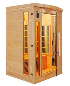 Sauna infrarouge Apollon 2 places 2