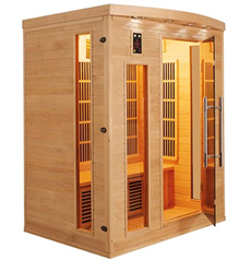 Sauna infrarouge Apollon 3 places vue 1