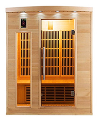 Sauna infrarouge Apollon 3 places vue 3